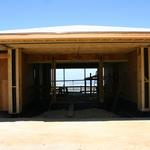 9,000 sq. ft. home scheduled completion in late 2012:  Entry porch