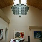 4,000 sq. ft. home finished in mid 90's:  Great room ridge skylight with indirect lighting above baby grand piano.